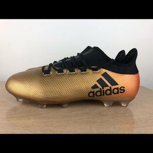 ee6a12026 adidas Shoes | X 172 Soccer Cleats Metallic Gold Black | Poshmark